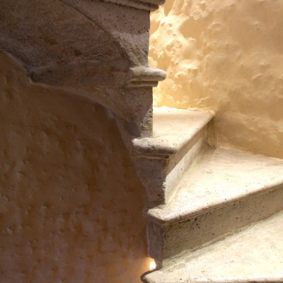 Stone staircase Saint capraise